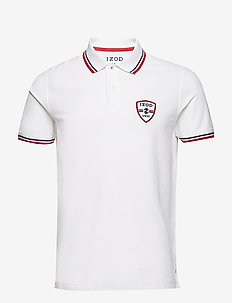 PERFORMANCE PATCH AMERICANA POLO - BRIGHT WHITE