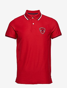 PERFORMANCE PATCH AMERICANA POLO - REAL RED