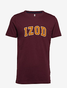 SOLID LOGO ARCH TEE - PORT ROYALE