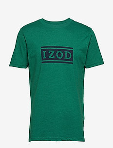 IZOD LOGO GRAPHIC TEE - EVERGREEN
