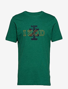 IZ LOGO GRAPHIC TEE - EVERGREEN