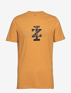 IZ LOGO GRAPHIC TEE - SPRUCE YELLOW