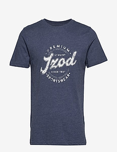 PREMIUM IZOD GRAPHIC TEE - PEACOAT