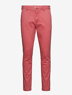 SALTWATER STRCH CHINO - SALTWATER RED