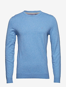 12GG CREW NECK SWEATER - BLUE REVIVAL HT