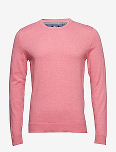 12GG CREW NECK SWEATER - RAPTURE ROSE HT