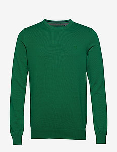 12GG CREW NECK SWEATER - VERDANT GREEN