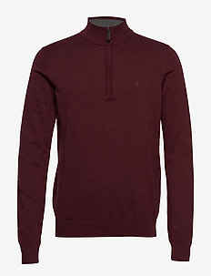 12GG 1/4 ZIP SWEATER - PORT ROYALE