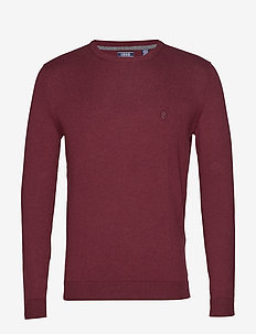 12GG SOFT COTTON CREW NECK - PORT ROYALE HTR