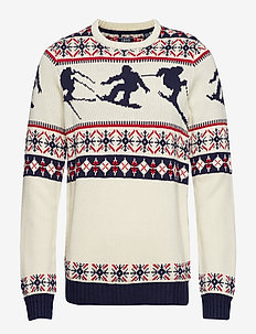 5GG SKI CREW NECK SWEATER - VANILA ICE
