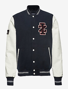 VARISTY BASEBALL JACKET - NAVY BLAZER