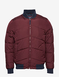 BOMBER PUFFER JACKET - PORT ROYALE