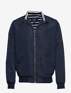 COASTAL BOMBER JACKET - NAVY BLAZER