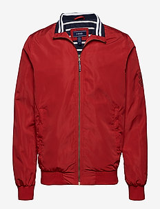 COASTAL BOMBER JACKET - REAL RED