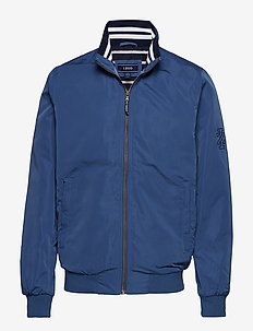COASTAL BOMBER JACKET - TRUE NAVY