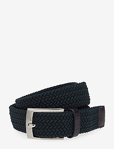 TWO COLOR HERRINGBONE BELT - BOTANICAL GARDEN
