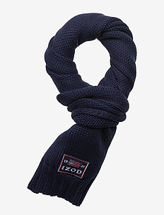 IZOD BADGE SCARF - PEACOAT