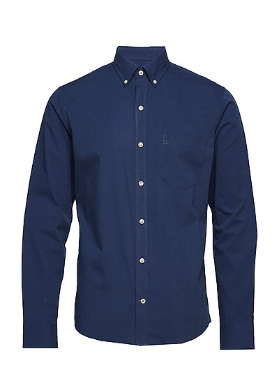 END ON END BD SHIRT - PEACOAT
