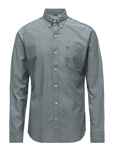 SOLID OXFORD BD SHIRT - BOTANICAL GARDEN