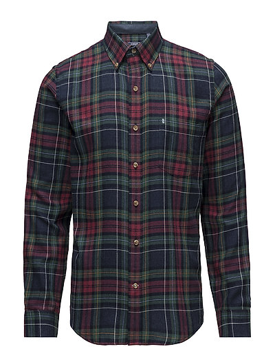 FLANNEL CHECK SHIRT - MIDNIGHT