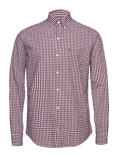 IZOD GINGHAM CHECK SHIRT