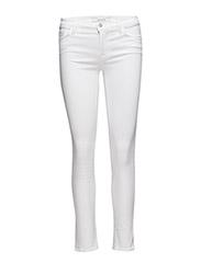 Mid-Rise 11 Skinny Jeans Vit J BRAND