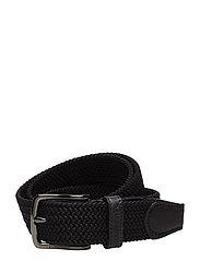 S-BELT 52004 Elastic Braid - BLACK