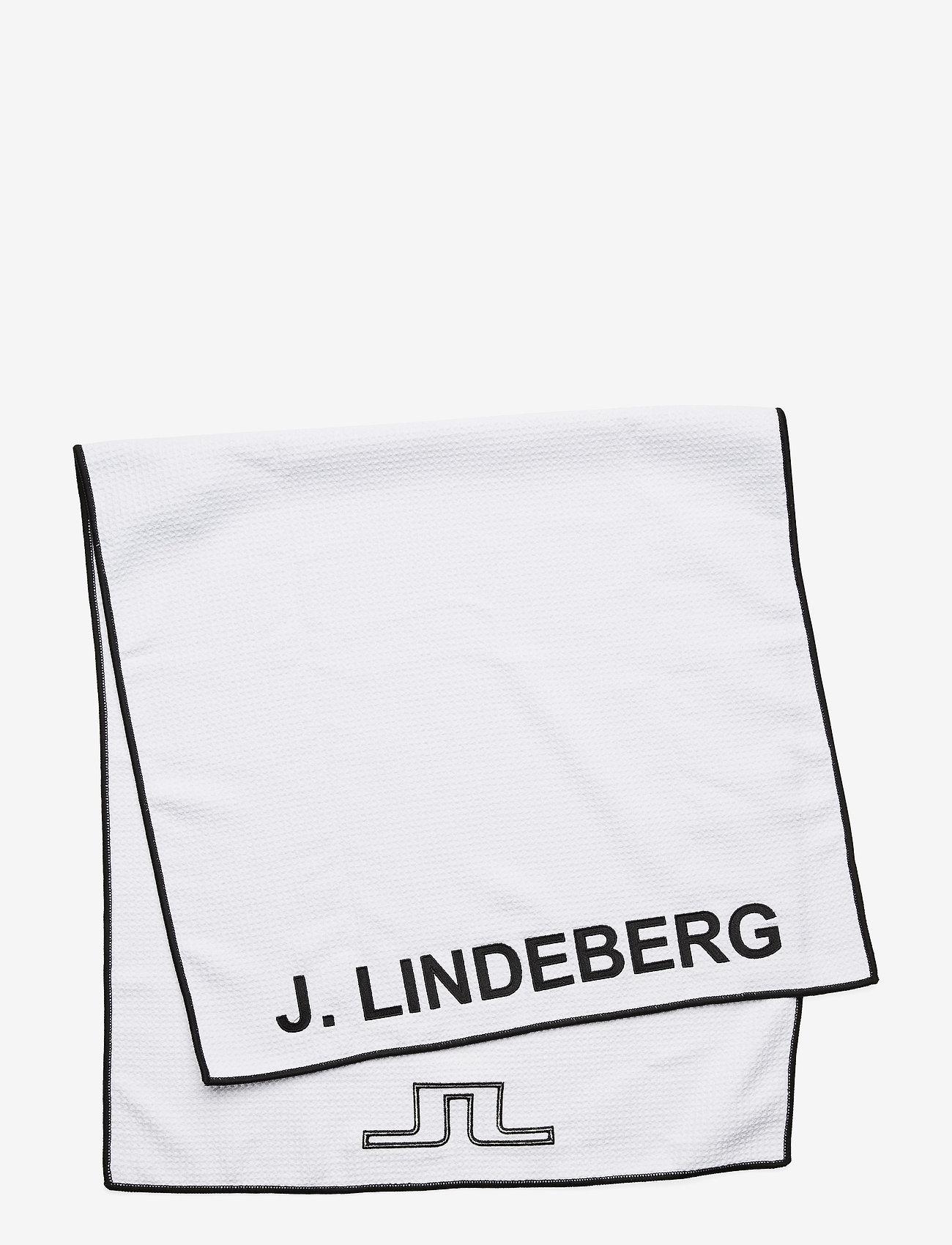 J. Lindeberg Golf - Golf Towel - golf equipment - white - 0