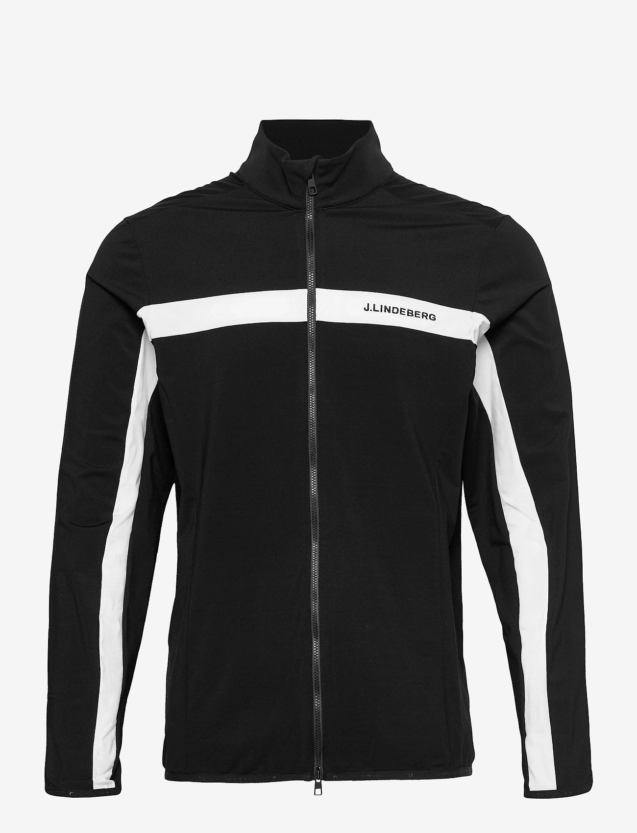 J. Lindeberg Golf - Jarvis Mid Layer - langarmshirts - black - 1