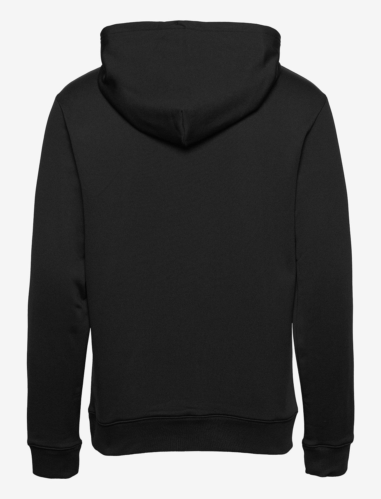 J. Lindeberg Golf - Stretch Fleece Hoody - kapuzenpullover - black - 1