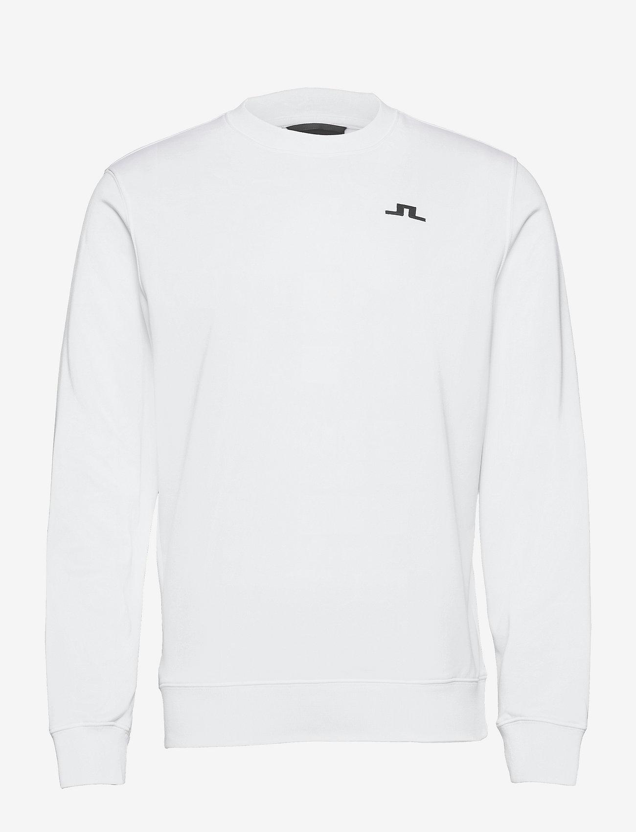 J. Lindeberg Golf - Stretch Fleece Light Crew - overdeler - white - 0