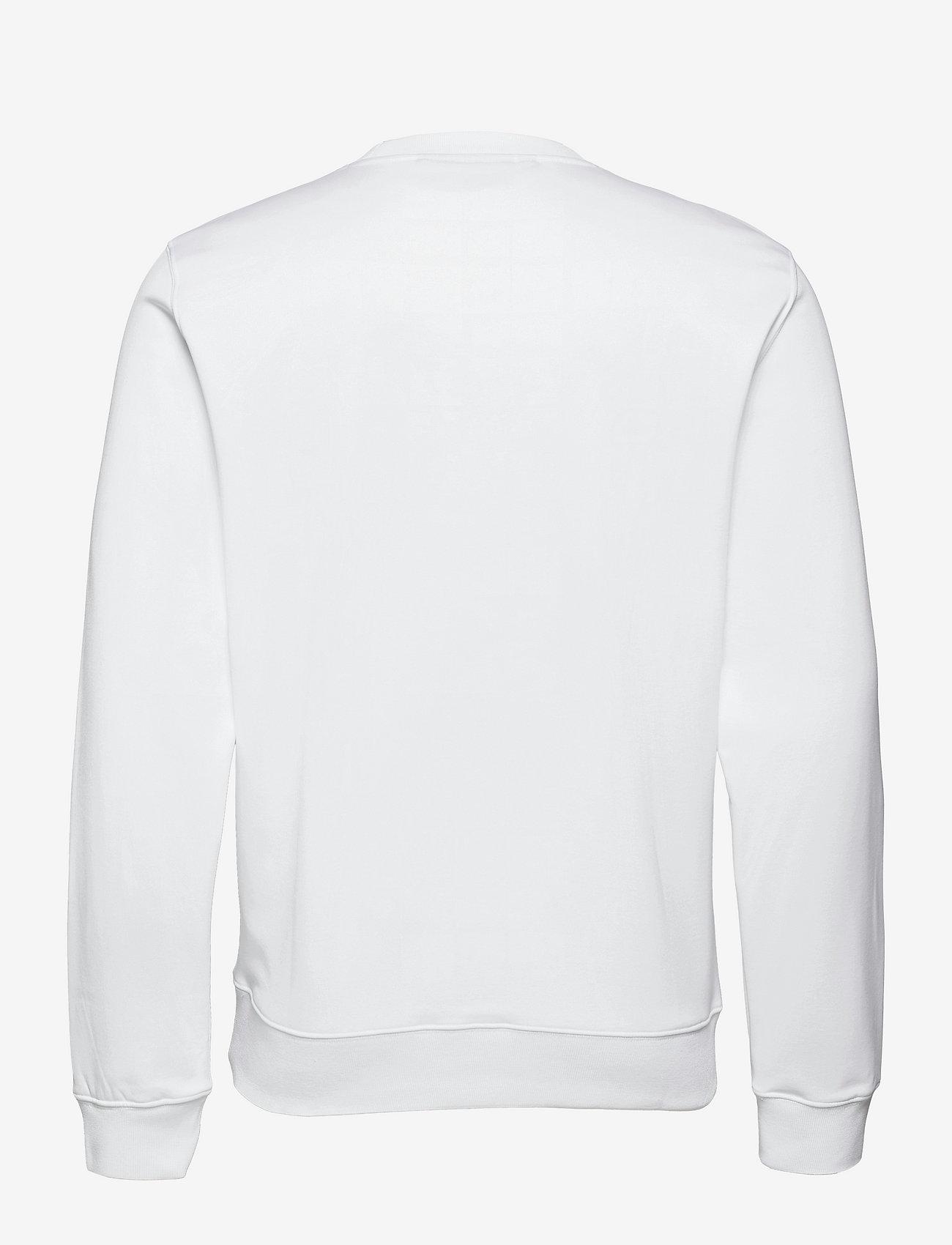 J. Lindeberg Golf - Stretch Fleece Light Crew - overdeler - white - 1