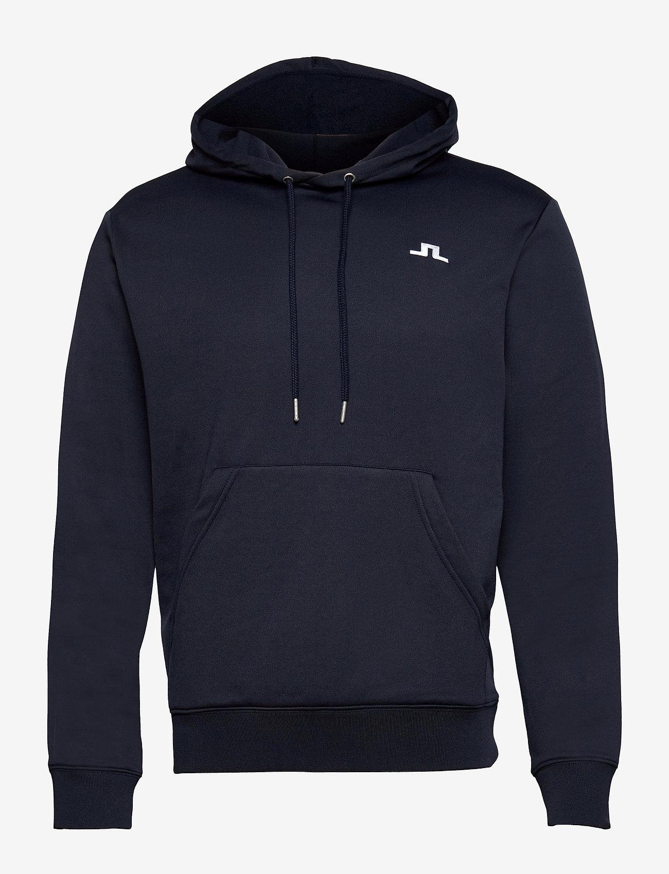 J. Lindeberg Golf - Stretch Fleece Light Hoody - hettegensere - jl navy - 0