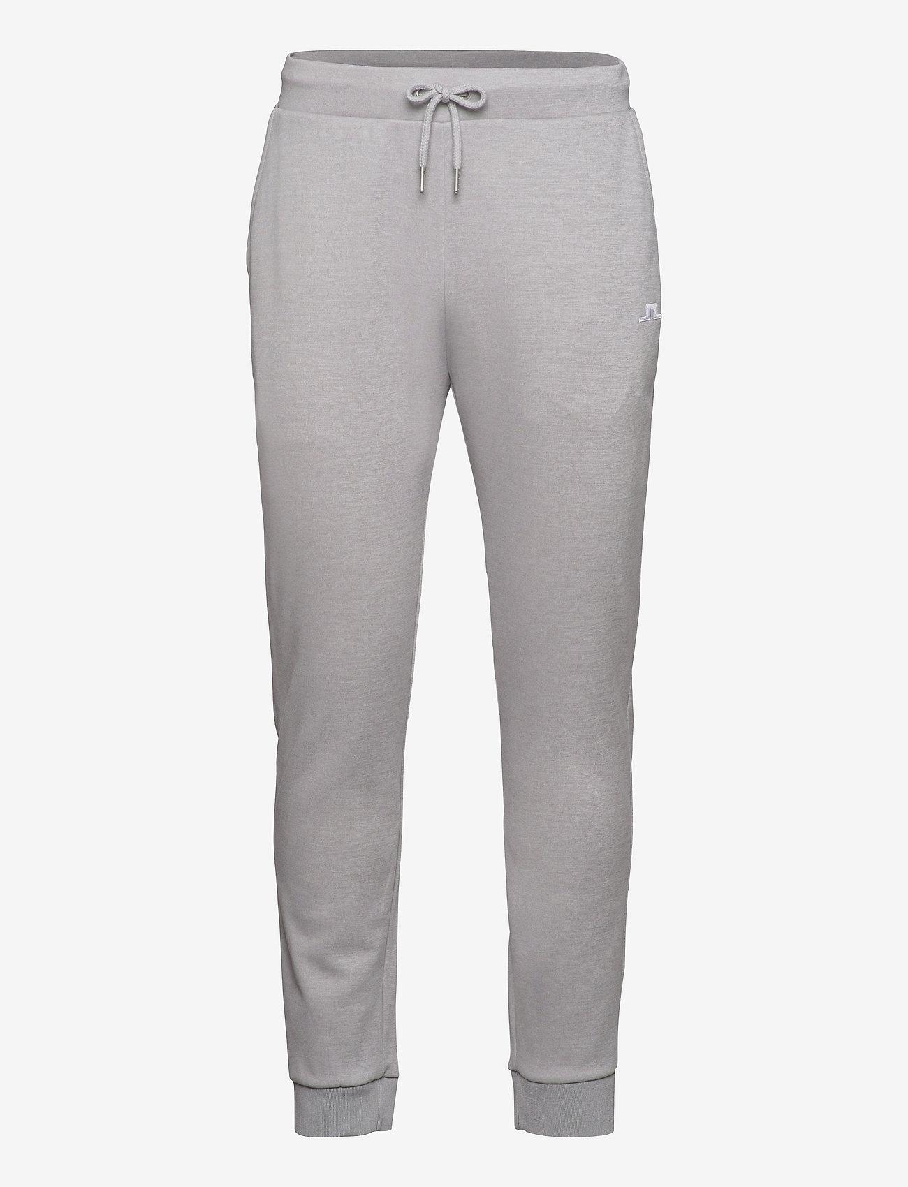 J. Lindeberg Golf - Stretch Fleece Light Pant - golfbukser - stone grey melange - 0