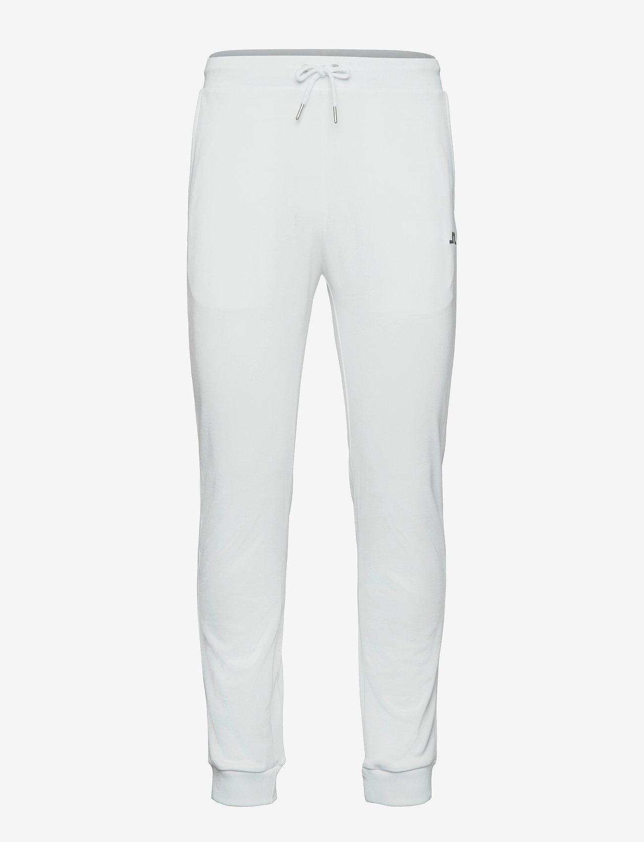 J. Lindeberg Golf - Stretch Fleece Light Pant - golfbukser - white - 0