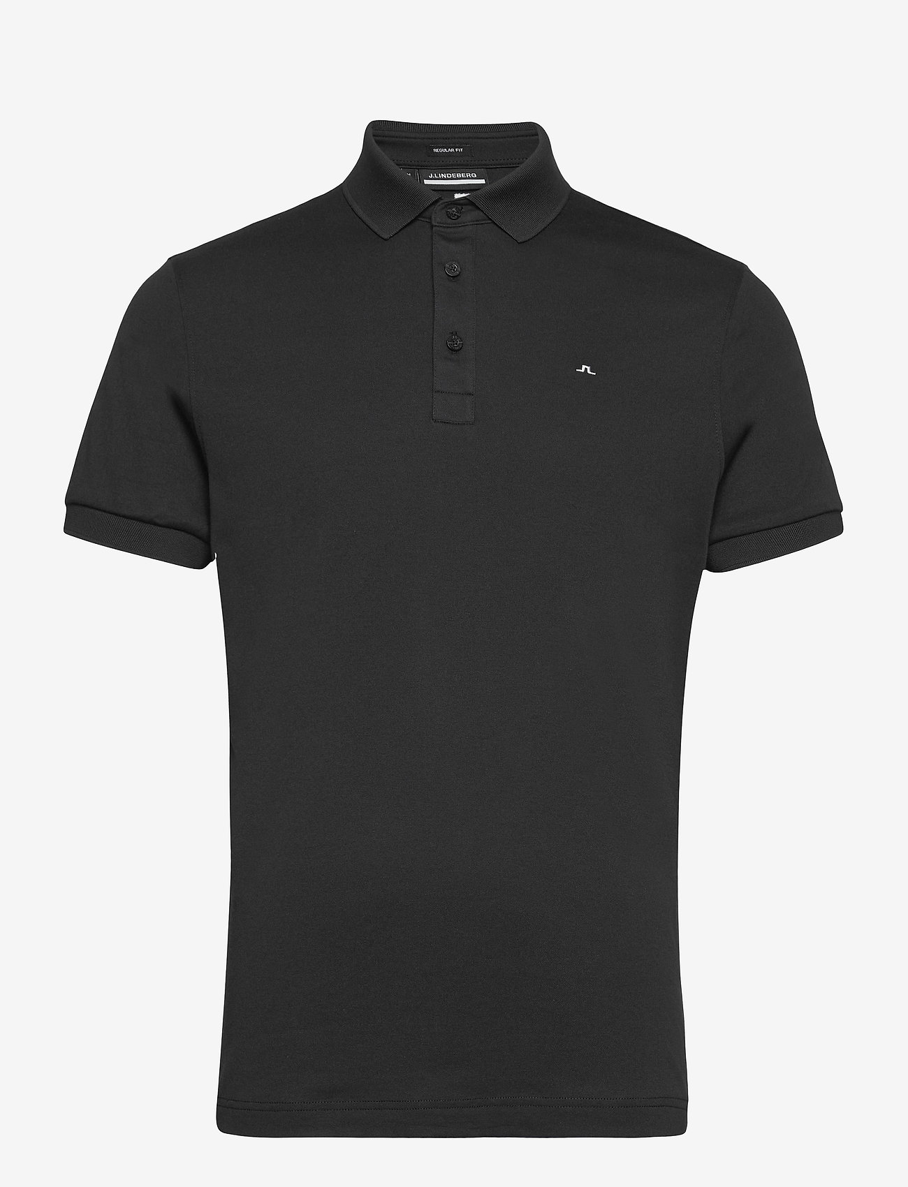 J. Lindeberg Golf - Stan Regular Fit Golf Polo - kurzärmelig - black - 1