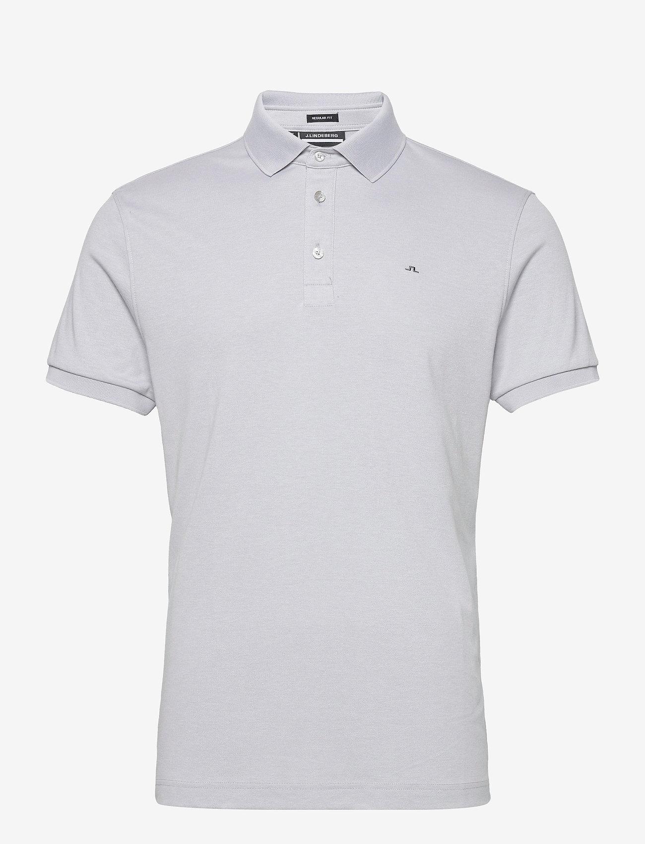 J. Lindeberg Golf - Stan Regular Fit Golf Polo - kurzärmelig - stone grey melange - 1