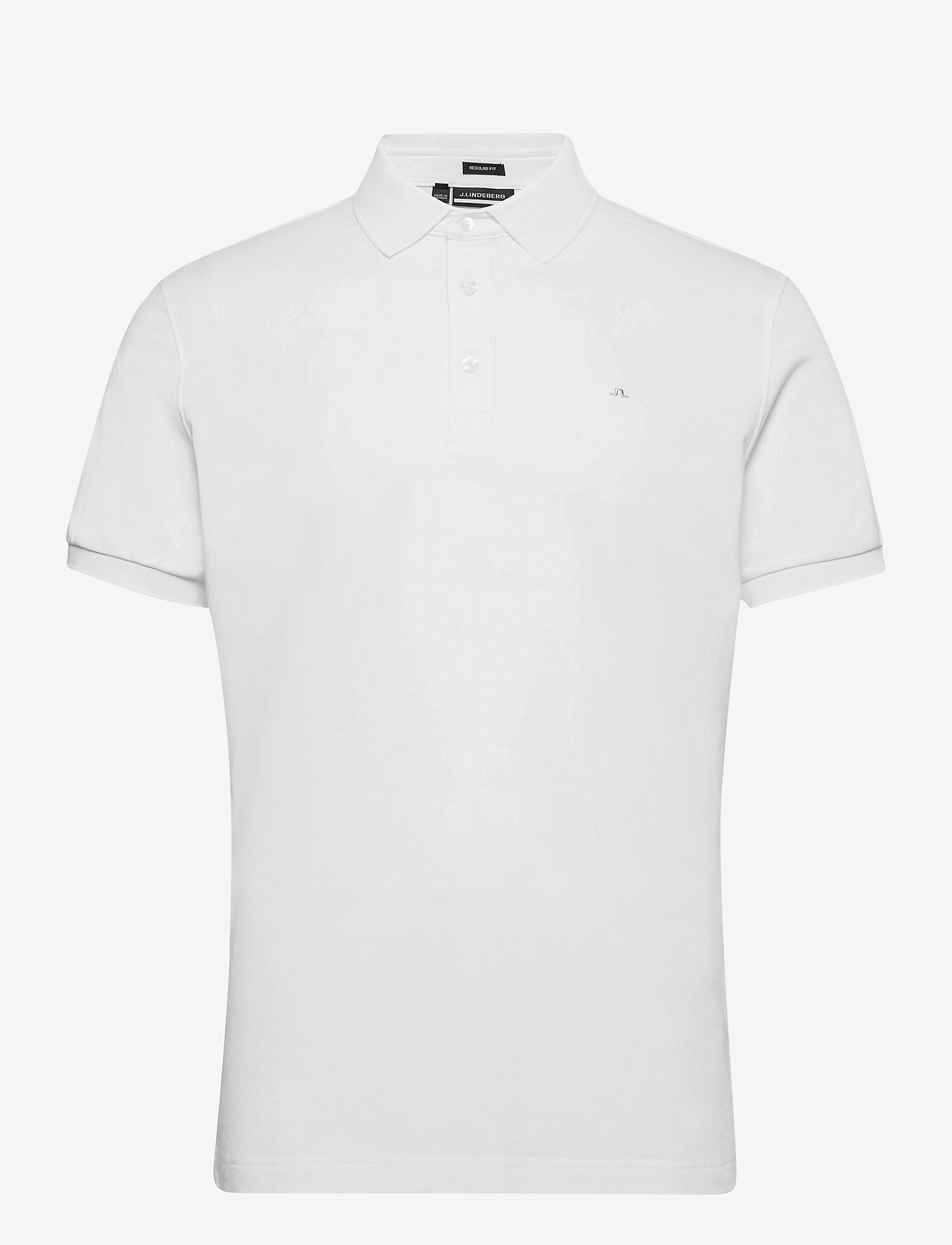 J. Lindeberg Golf - Stan Regular Fit Golf Polo - kurzärmelig - white - 1