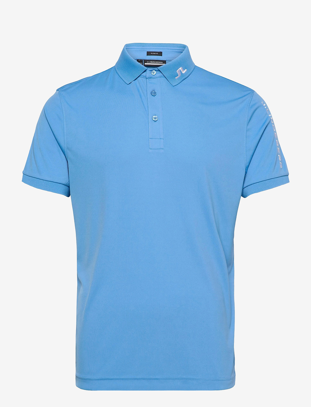 J. Lindeberg Golf - Tour Tech Slim Fit Golf Polo - kurzärmelig - ocean blue - 1