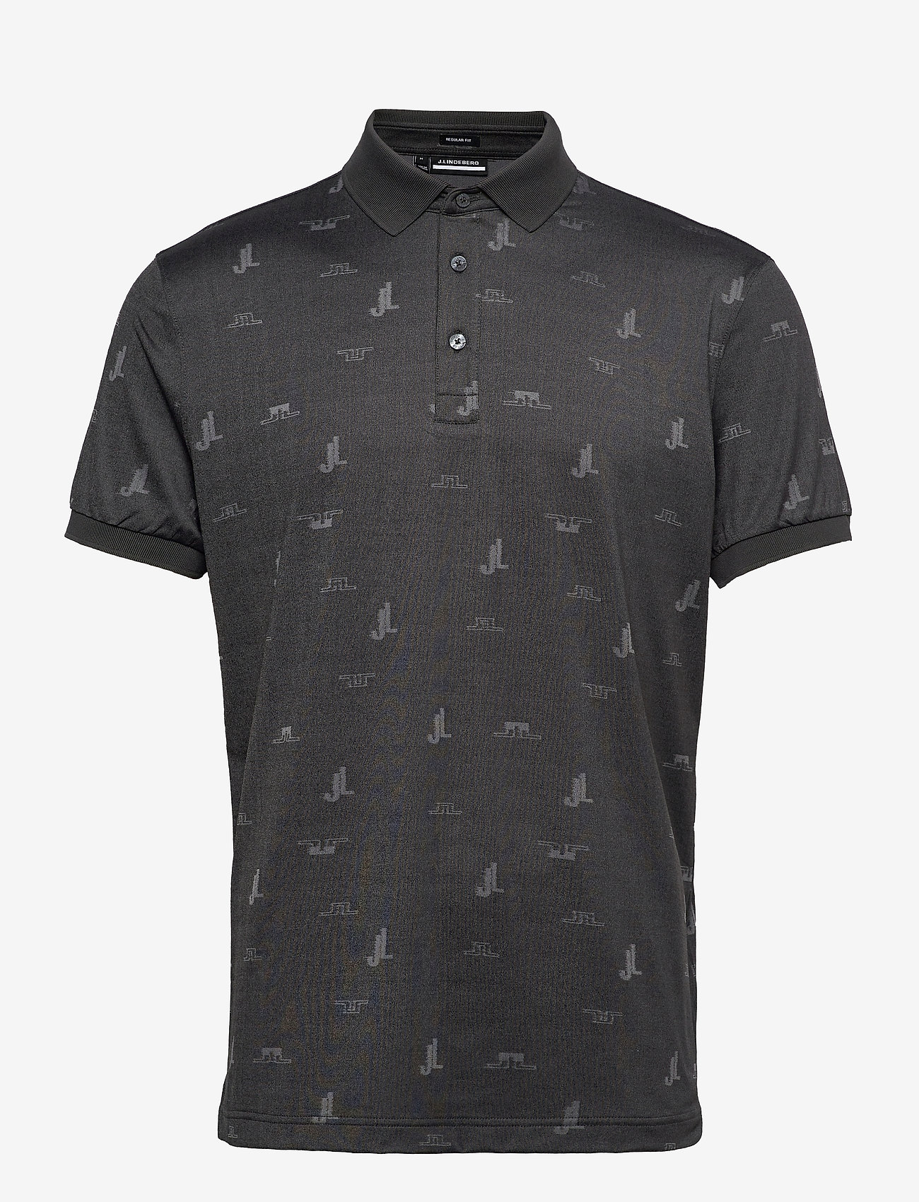 J. Lindeberg Golf - Glen Regular Fit Golf Polo - kurzärmelig - jl bridge dark grey - 1