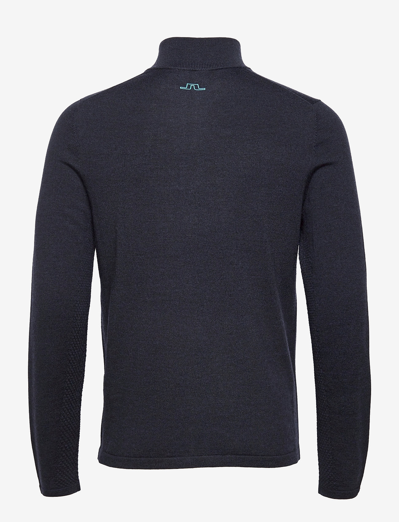 J. Lindeberg Golf - Max Zipped Golf Sweater - half zip - jl navy melange - 1
