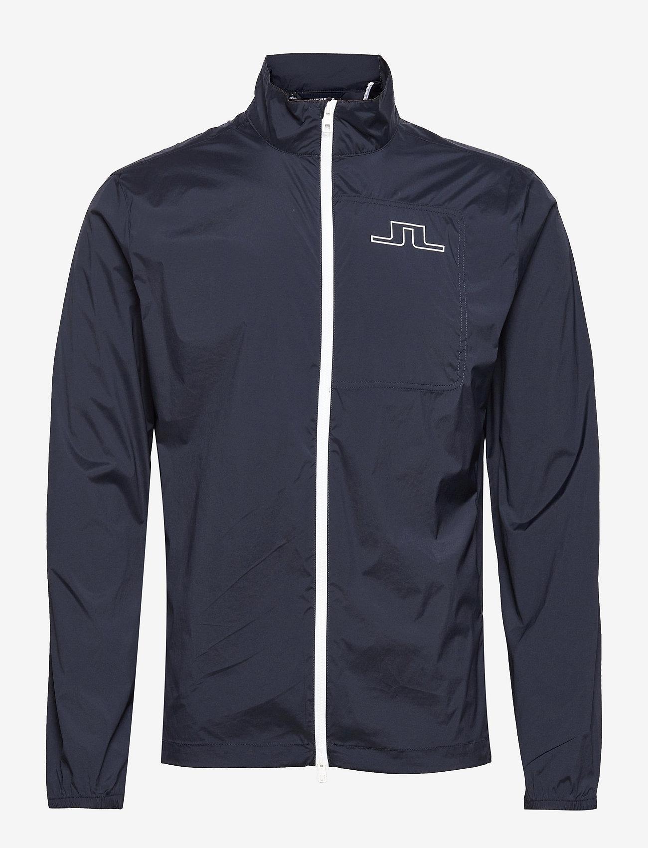 J. Lindeberg Golf - Ash Light Packable Golf Jacket - golfjakker - jl navy - 0
