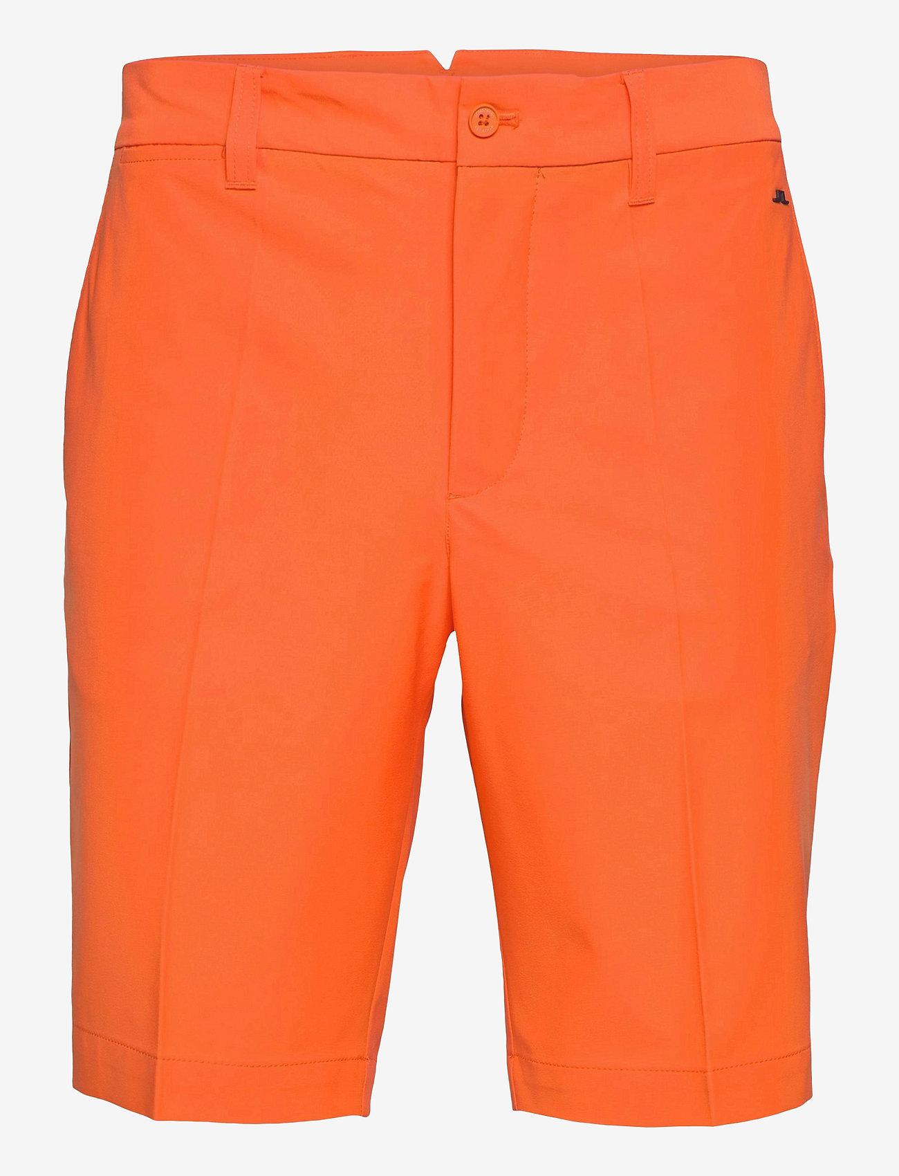 J. Lindeberg Golf - Eloy Golf Shorts - golf-shorts - lava orange - 1