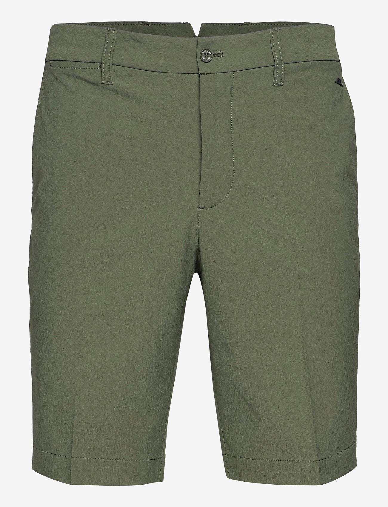 J. Lindeberg Golf - Eloy Golf Shorts - golf-shorts - thyme green - 1