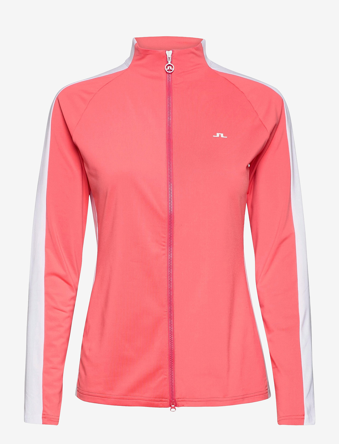 J. Lindeberg Golf - Marie Golf Mid Layer - golf jackets - tropical coral - 1