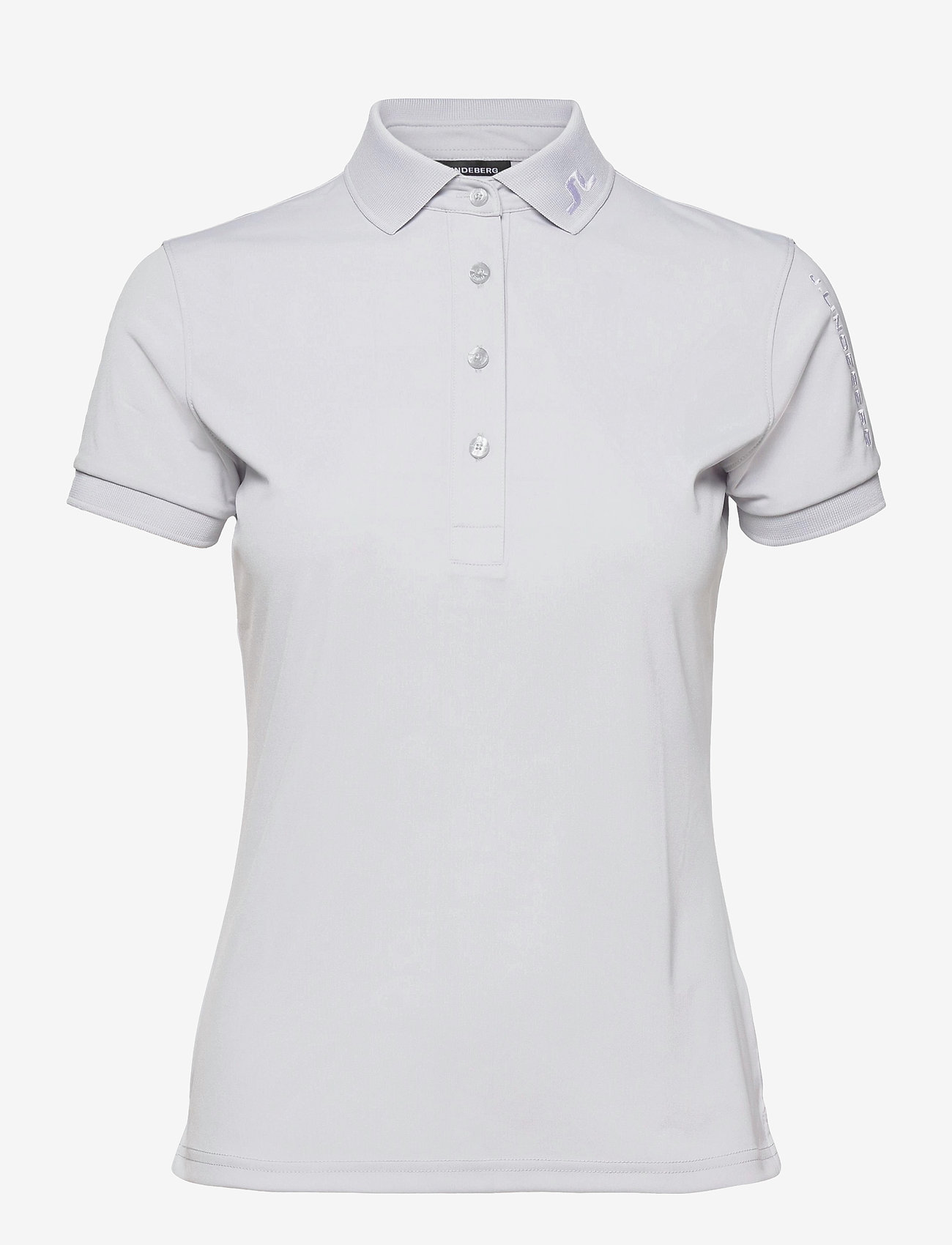 J. Lindeberg Golf - Tour Tech Golf Polo - polos - light grey - 1