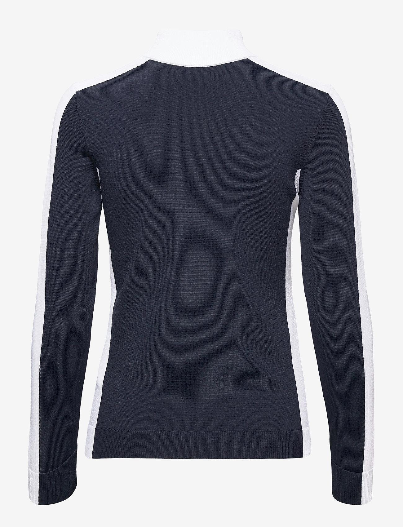 J. Lindeberg Golf - Adia Golf Sweater - jumpers - jl navy - 1