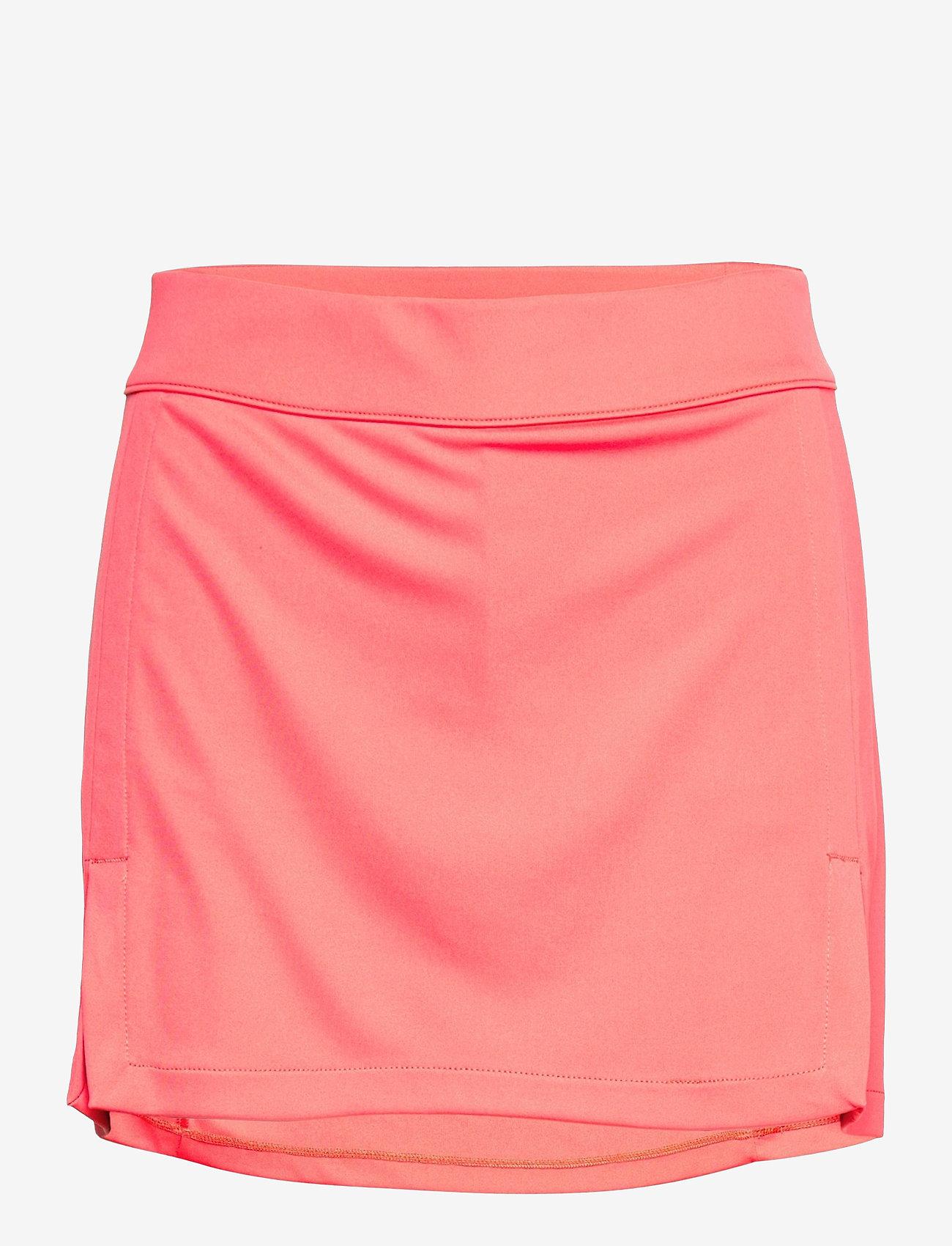 J. Lindeberg Golf - Amelie Golf Skirt - sports skirts - tropical coral - 1