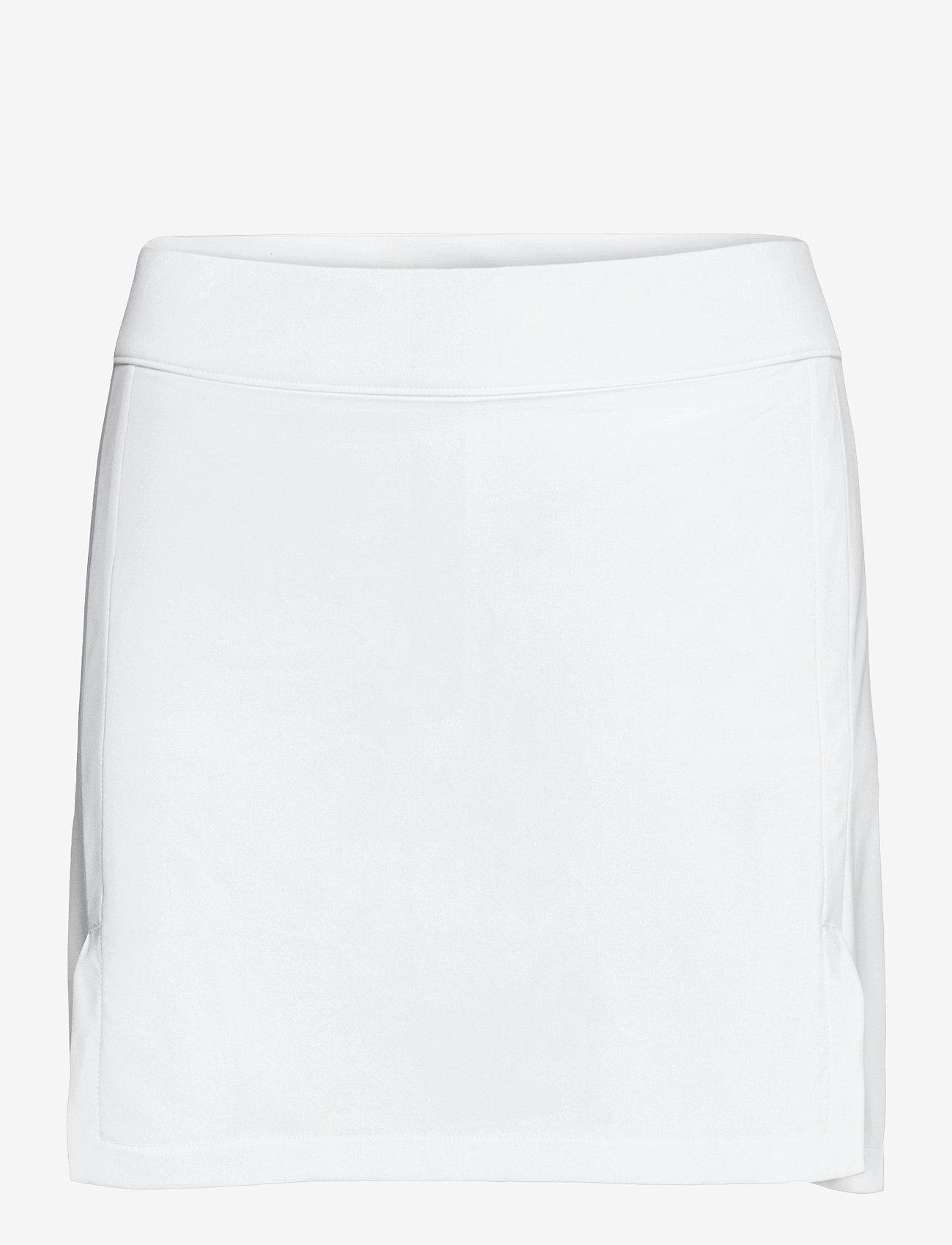 J. Lindeberg Golf - Amelie Mid Golf Skirt - sports skirts - white - 0