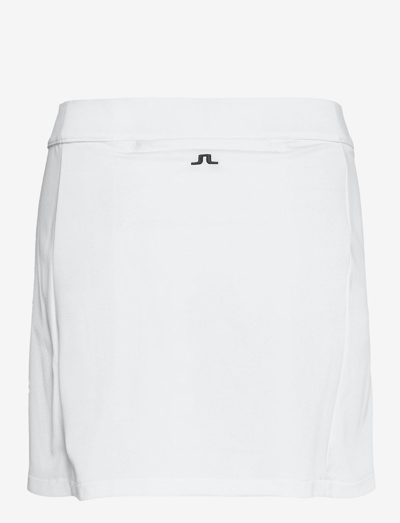 J. Lindeberg Golf - Amelie Mid Golf Skirt - sports skirts - white - 1
